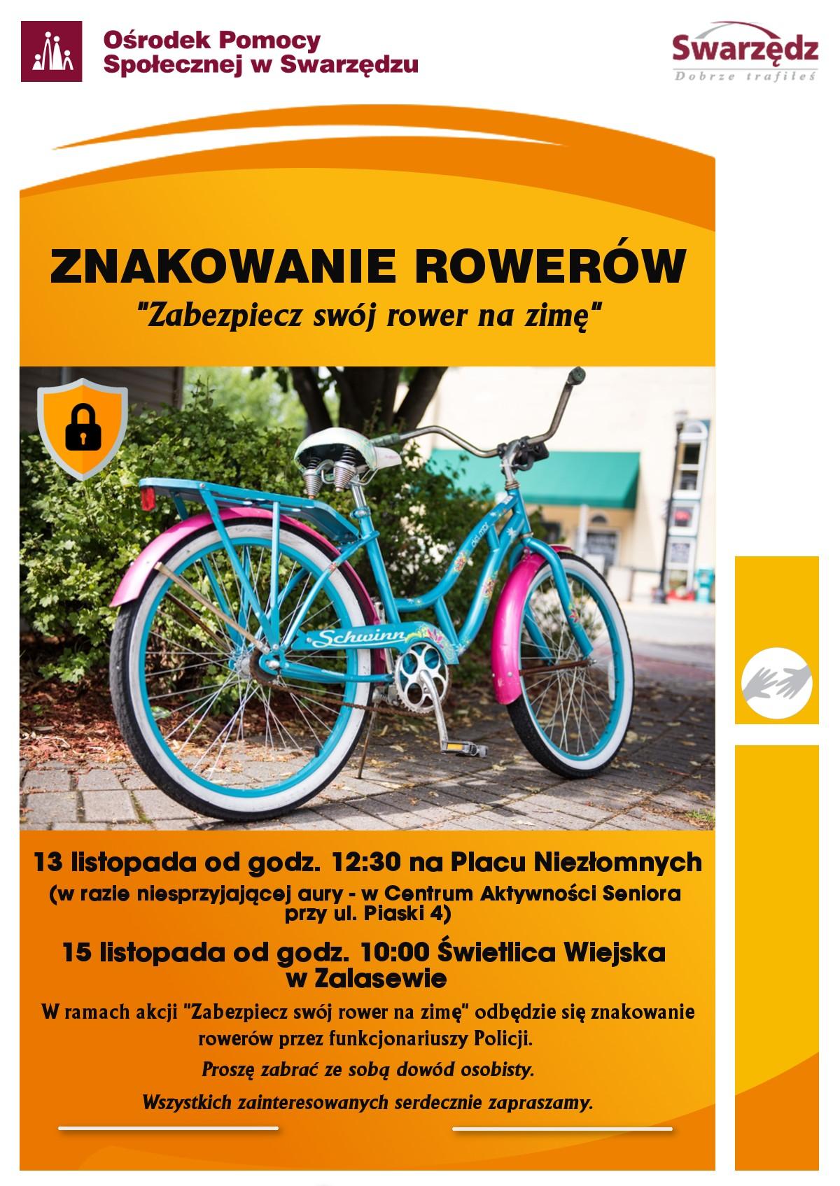 znakowanie rowerow
